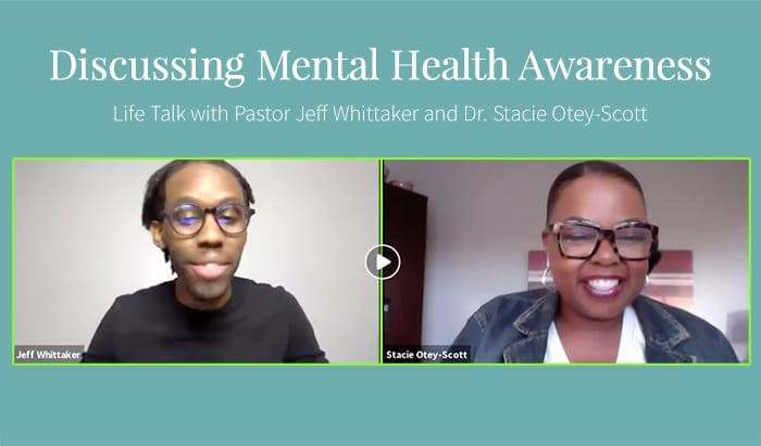 Discussing Mental Health with Pastor Jeff Whittaker